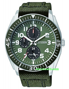 CITIZEN Eco-Drive Gents Military Dress Collection AP4011-01W