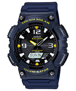 CASIO TOUGH SOLAR Analog-Digital Combination AQ-S810W-2AV