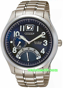 CITIZEN Eco-Drive Big Date Dual Timer Sapphire Collection BR0020-52L