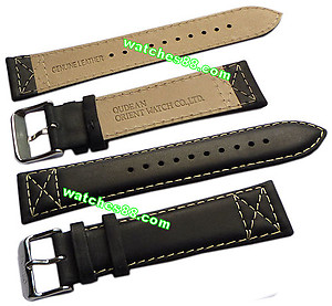 ORIENT 22mm Genuine Leather for CEM7A Color : Black