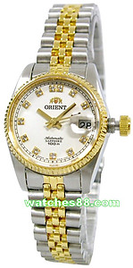 ORIENT Oyster Ladies Automatic Sapphire Collection CNR16002W