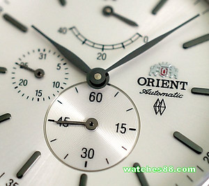 ORIENT Classic Automatic Power Reserve Sapphire Collection EZ09004W