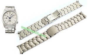 Orient original 22mm solid stainless steel bracelet for CFD0E002W, CFD0E004W & Etc. Code: QPDDUC