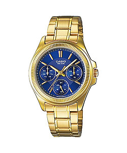 CASIO Multi-Hand Ladies Collection LTP-E304GB-2AV