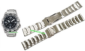 Seiko 22mm Solid Stainless Steel Bracelet for SRP441, SRP443 & etc. Code: M0ES124