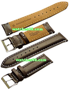 24mm Genuine Leather Strap Brown Color Code: SCX8408NW24