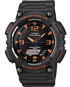 CASIO TOUGH SOLAR Analog-Digital Combination AQ-S810W-8AV