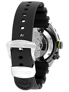 SEIKO 24mm Genuine Diver's Rubber Strap for SUN021P1 Code: R01Y011J0