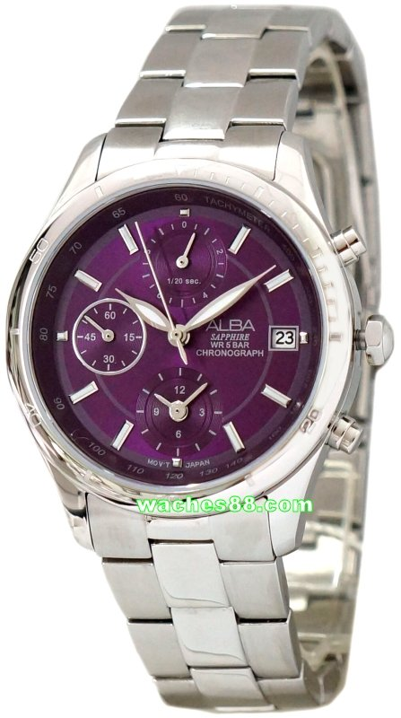 ALBA Fashion Sapphire  Collection Chronograph AF8R67X1
