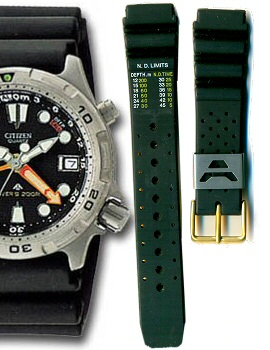 Citizen 19mm Promaster Diver's Rubber Strap