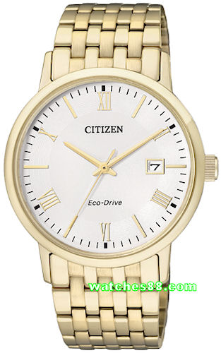 CITIZEN Eco-Drive Gents Sapphire Crystal Collection BM6772-56A