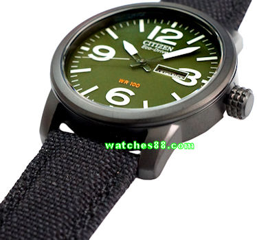 CITIZEN Eco-Drive Gents Military Dress Collection BM8475-00X