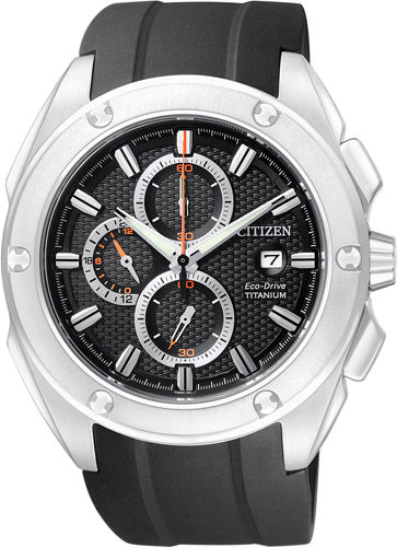 CITIZEN Eco-Drive Chronograph Super Titanium Collection CA0210-00E