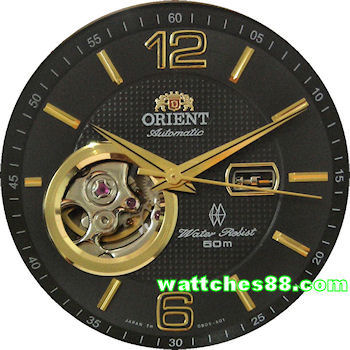 ORIENT Golden Eye Open Heart Automatic Sapphire Collection CDB05002B
