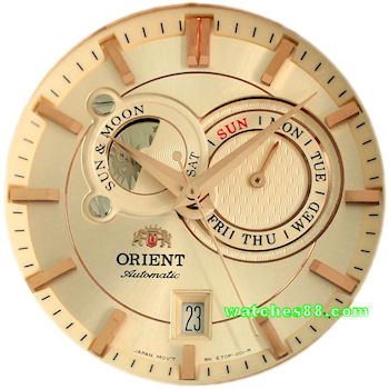 watches88 ORIENT Sun Moon Classic Automatic Sapphire Collection