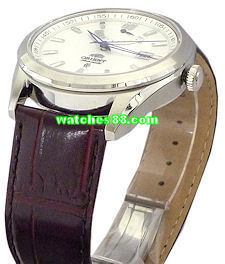 ORIENT 22mm genuine leather for CFD0F002W &  etc Color: Brown