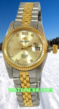 ORIENT Oyster Ladies Automatic Sapphire Collection CNR16002C