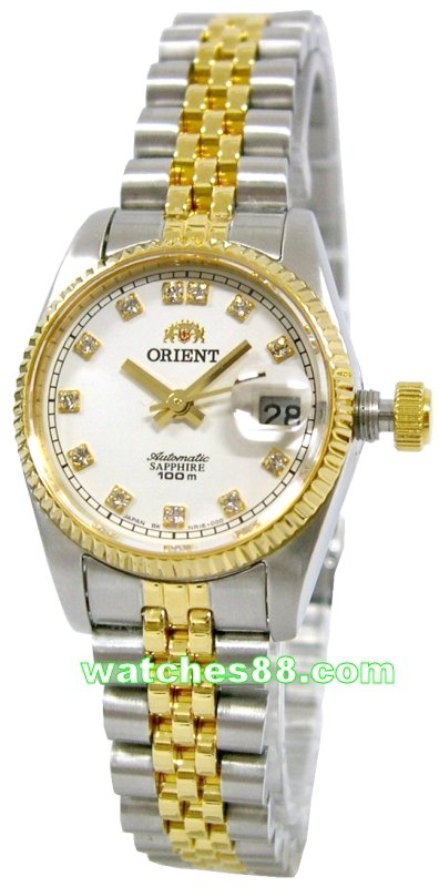 ORIENT Oyster Ladies Automatic Sapphire Collection FNR16002W
