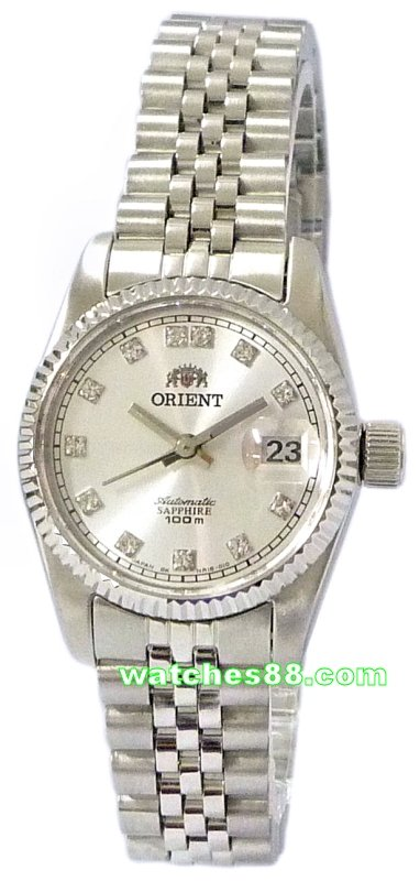 ORIENT Oyster Ladies Automatic Sapphire Collection FNR16003W