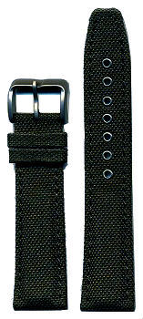 Citizen Nylon Strap 20mm - Black Color