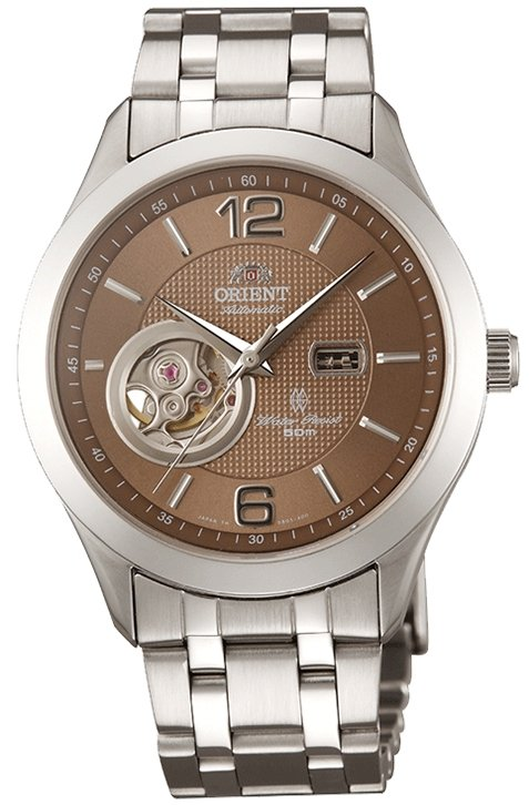 ORIENT Golden Eye Open Heart Automatic Sapphire Collection CDB05001T