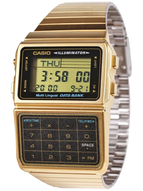 CASIO DATA BANK Gold Collection BC-611G-1DF