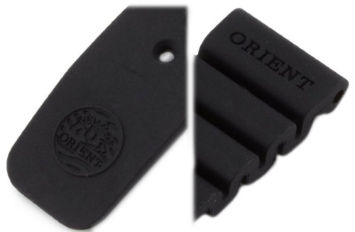 ORIENT 22mm genuine rubber strap for 300m Professional Diver EL02 & etc Code: V7729SB