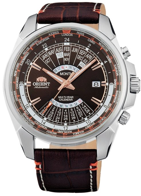 ORIENT Sporty Automatic World-Time Multi-Year Calendar EU0B004T