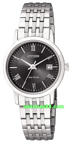 CITIZEN  Eco-Drive Ladies Sapphire Crystal Collection EW1580-50E