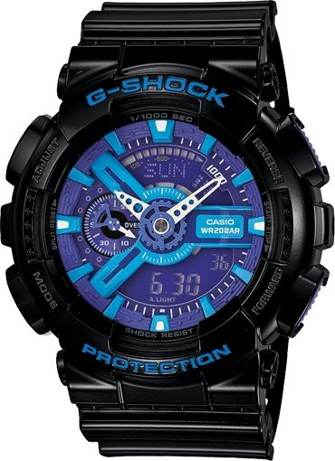 CASIO G-SHOCK Garish Collection GA-110HC-1A
