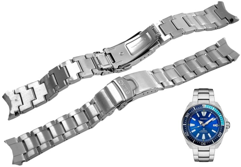 SEIKO 22mm Solid Stainless Steel Bracelet for SRPB49, SRPB51 Code: M0FPA37J0