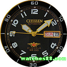 Citizen Sports Automatic 100M NH8182-51E