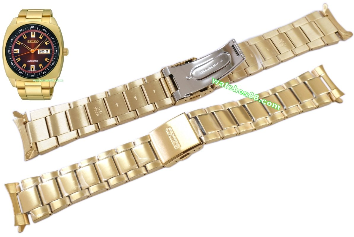 SEIKO 24mm solid stainless steel bracelet for SNKM97K1 Code: M0GKA38J0