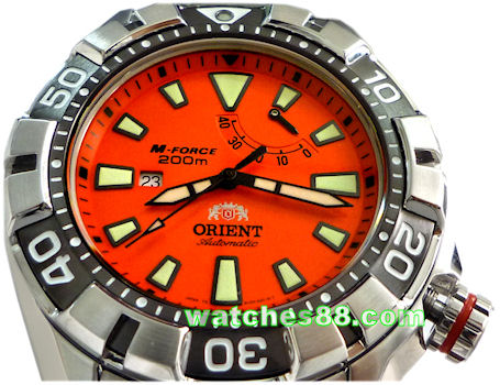 ORIENT M-FORCE Automatic Power Reserve Diver's 200M SEL03002M (WV0031EL)