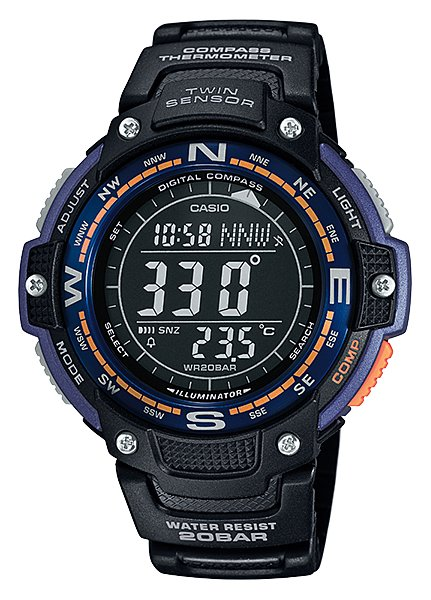 CASIO SPORTS GEAR - TWIN SENSOR SGW-100-2V