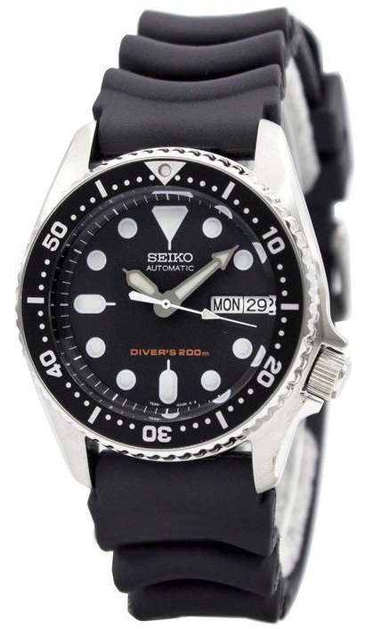 watches88 seiko mid size diver s 200m automatic skx013k1