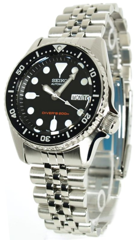watches88 seiko mid size diver s 200m automatic skx013k2