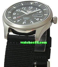 Seiko 22mm Genuine Nylon Strap for SNDA20, SNDA21, SNDA23, SNDA25, SNDA57, etc.