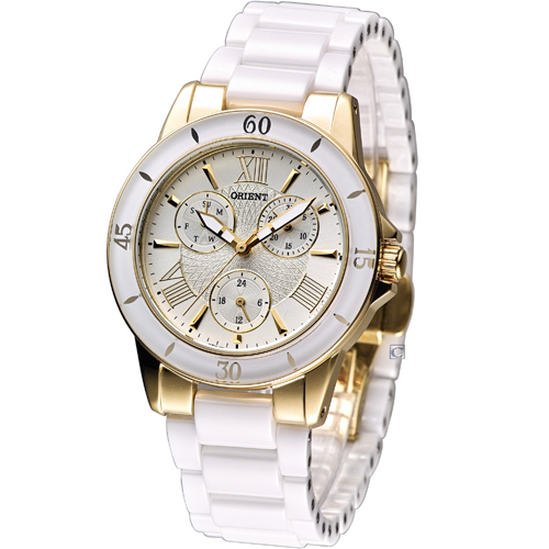 ORIENT Fashionable Quartz Ceramic collection UT0F003S