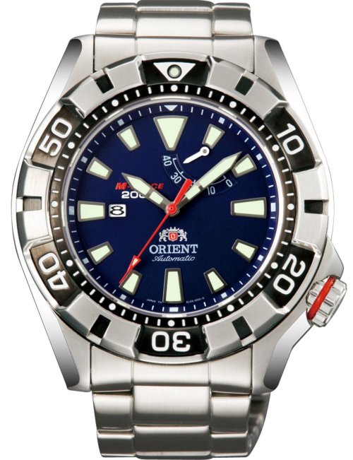 ORIENT M-FORCE Automatic Power Reserve Diver's 200M SEL03001D (WV0021EL)