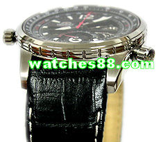 ORIENT 22mm Genuine Leather for CFT00001B Color: Black Code: QUDCYP