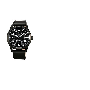 ORIENT 22mm genuine leather for FER2A001B Code: QUDENV Color: Black / Black Buckle