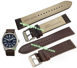 ORIENT 22mm genuine leather for FER2A004D Code: QUDENV-BR Color: Brown