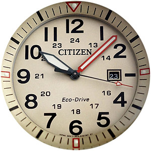 CITIZEN Eco-Drive Gents Military Dress Collection AW5005-12X