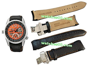 ORIENT 22mm Genuine Leather for CFT00002M