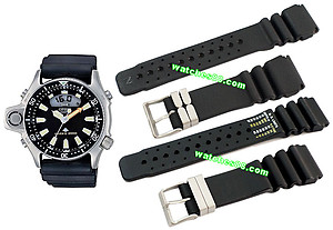 CITIZEN Promaster Diver's Rubber Strap 24mm for JP2000 Code : 59-L7322