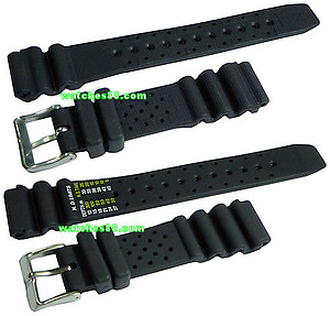Citizen Promaster Diver's Rubber Strap 20mm for NY0040, NY0046, NY0054, NY0055, NY2300 & etc.  code:  59-L7334