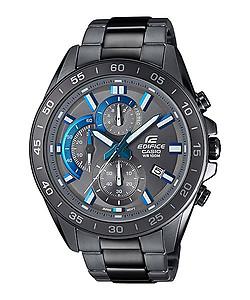 1aa454489 CASIO Edifice Black Series Chronograph 100M EFV-550GY-8AV