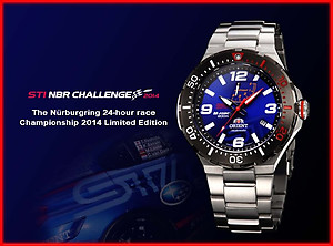 ORIENT x STI M-FORCE 200m Limited Edition 1500pcs SEL07003D