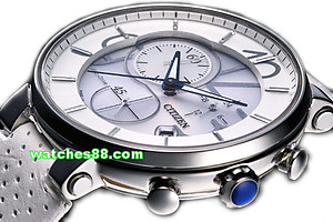 CITIZEN Original Genuine Leather Strap for FB1200-00A Code: 59-S52023 Color : White